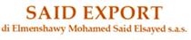 Said export di Elmenshawy Mohamed Said Elsayed sas