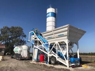 Ny PROMAX  M60-SNG (60m³/h) Mobile Concrete Batching Plant