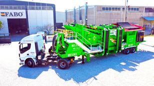 Ny FABO ME 1645 SERIES MOBILE SAND SCREENING PLANT
