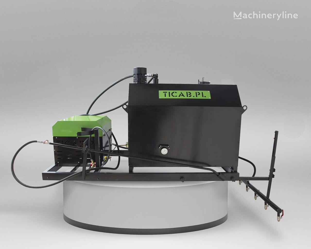 ny Skrapiarka do asfaltu / Asphalt Sprayer TICAB BS-1000 asfalt sprøyte maskin