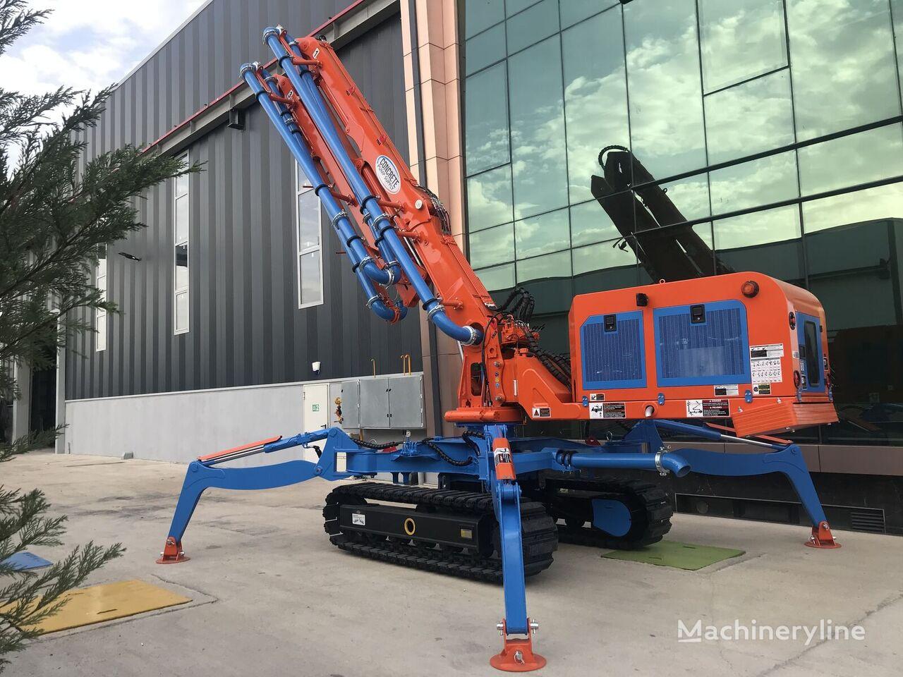 ny ROYALMAC HC18 Z4 CRAWLER PLACING BOOM betong distribusjon pumpe