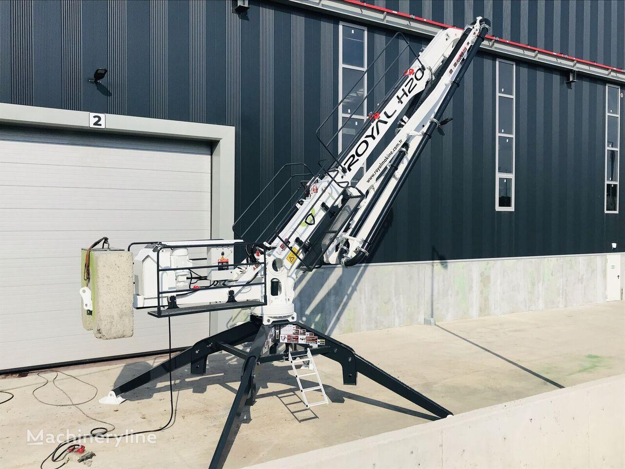 ny ROYALMAC HD20 R3 SPIDER PLACING BOOM betong distribusjon pumpe
