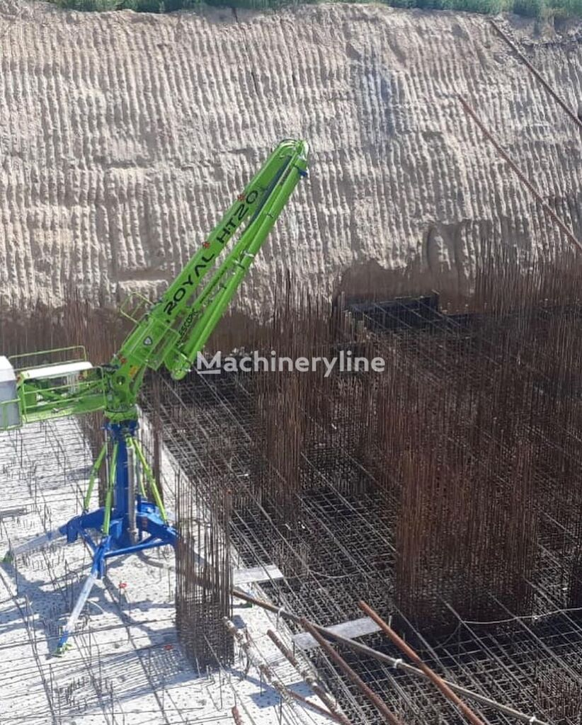 ny ROYALMAC HT20 R3 Telescopic Spider Placing Boom betong distribusjon pumpe
