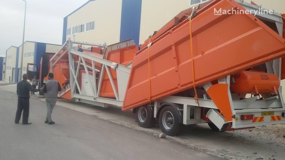 ny ASUR MAKİNA MCP 100 betongfabrikk