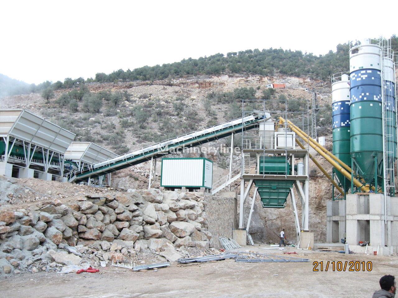 ny ASUR MAKİNA  STN 160 TWN betongfabrikk