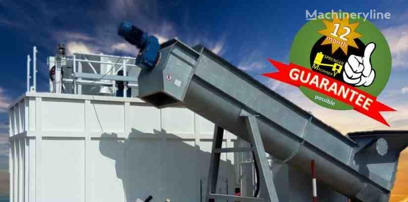 ny MREC 15 RSM  mobile fresh concrete recycler  betongfabrikk