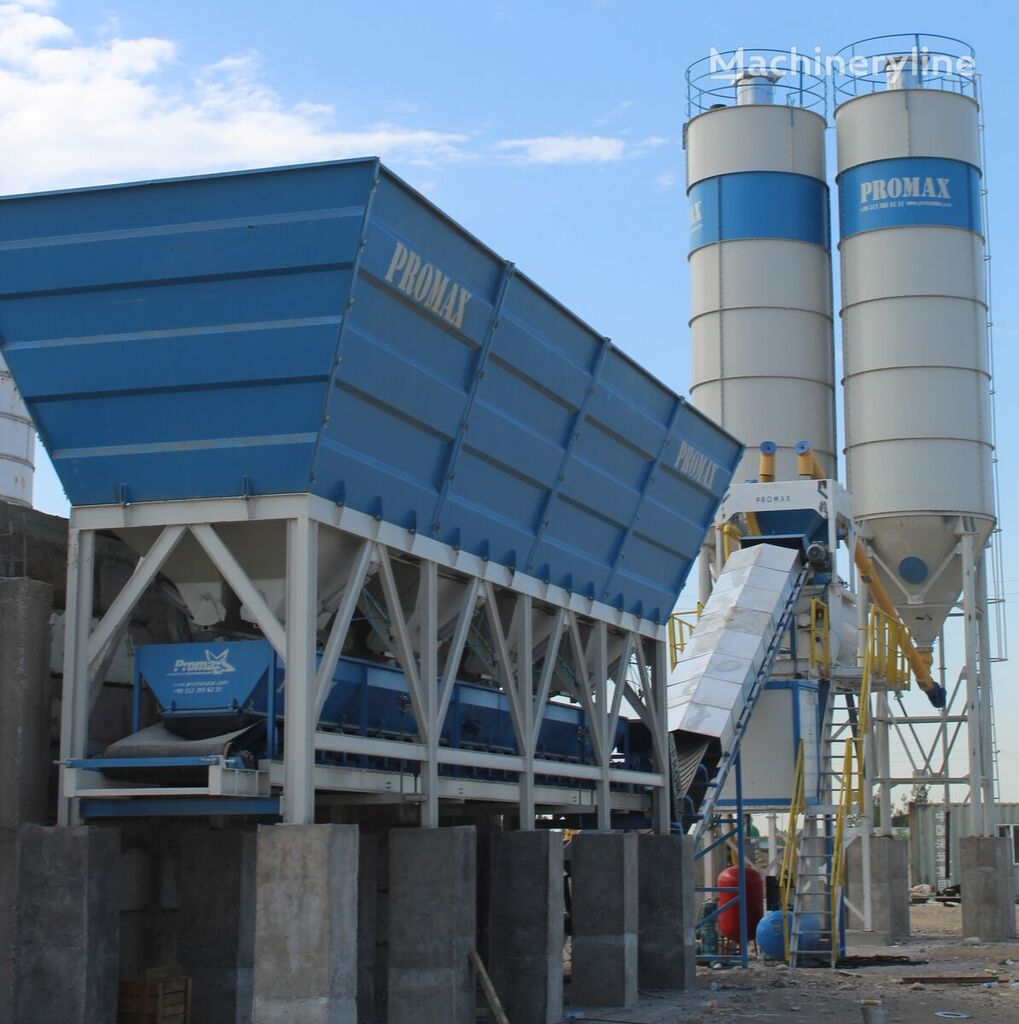 ny PROMAX C100-TWN-LINE betongfabrikk