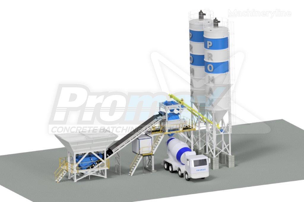 ny PROMAX Centrales à Béton Compacte C100-TWN PLUS (100m3/h) betongfabrikk