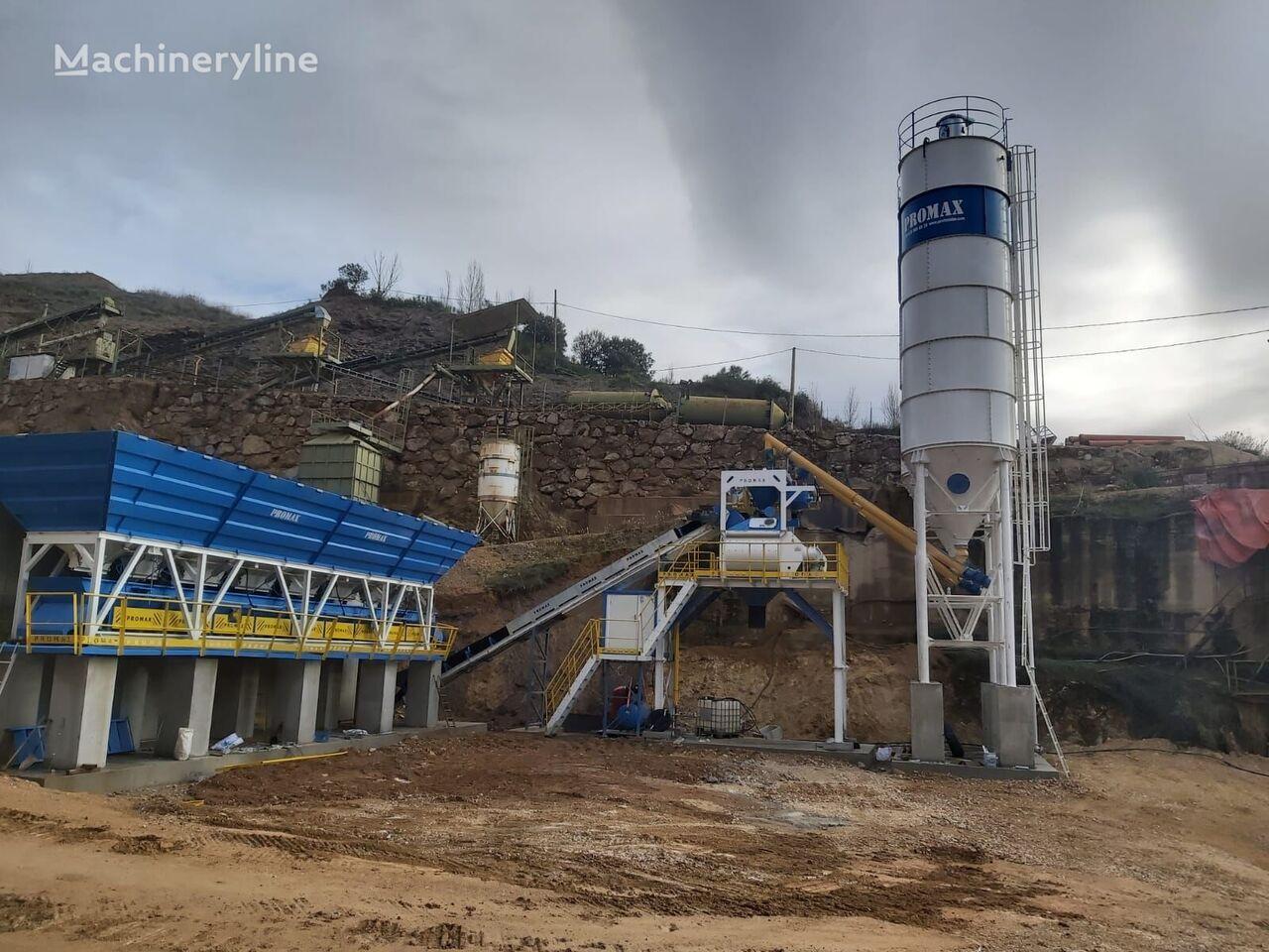 ny PROMAX Compact Concrete Batching Plant C100-TWN-LINE  betongfabrikk