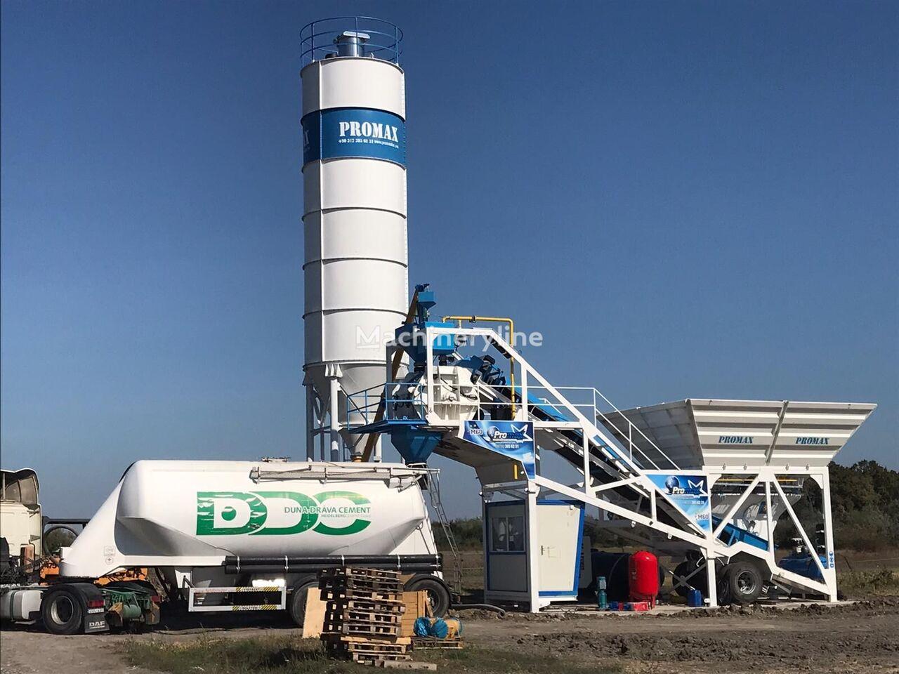 ny PROMAX M60-SNG  betongfabrikk