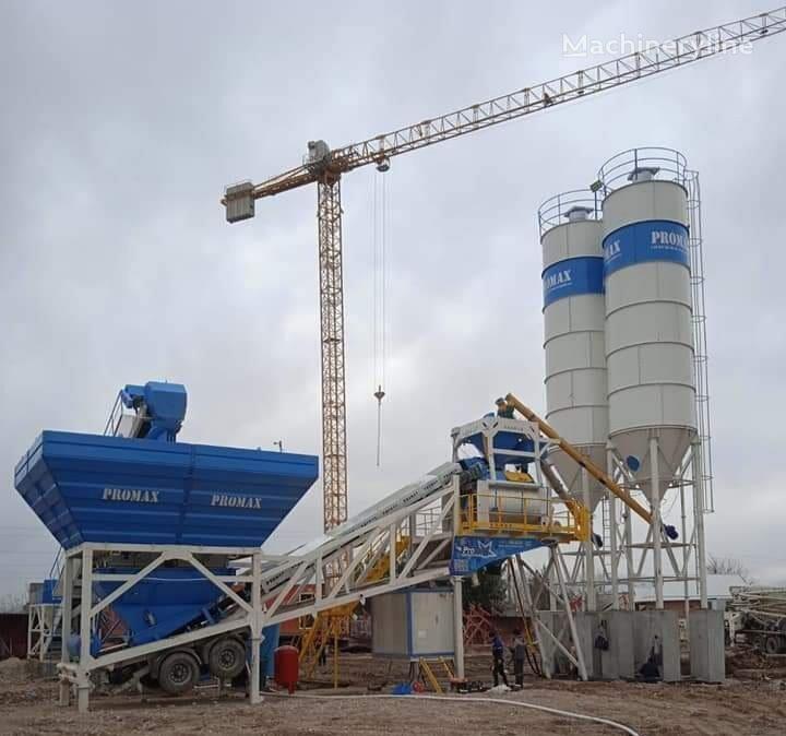 ny PROMAX Mobile Concrete Batching Plant M120-TWN (120m3/h) betongfabrikk