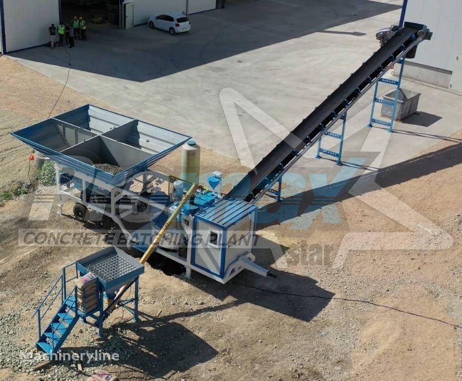 ny PROMAX Mobile Concrete Batching Plant M35-PLNT (35m3/h) betongfabrikk