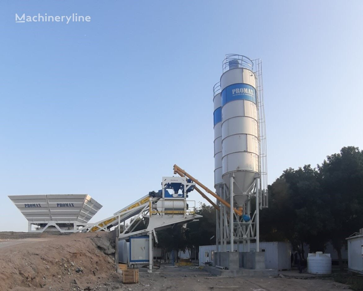ny PROMAX Mobile Concrete Batching Plant PROMAX M100 (100m3/h) betongfabrikk