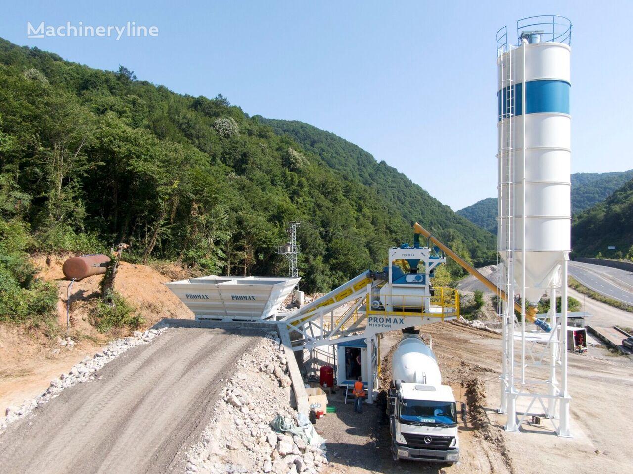 ny PROMAX Mobile M100-TWN  betongfabrikk