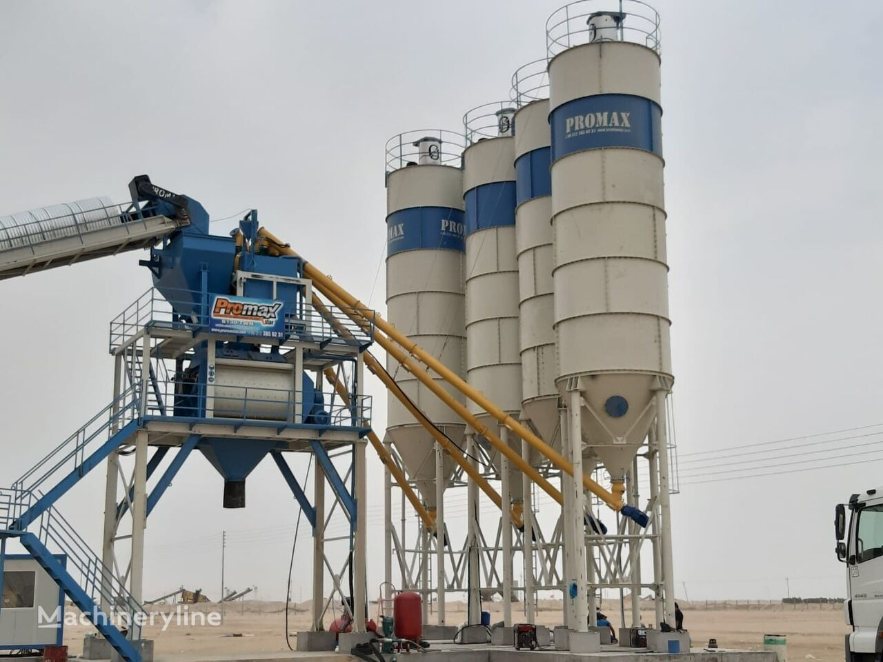 ny PROMAX STATIONARY Concrete Batching Plant PROMAX S130 TWN(130m³/h) betongfabrikk