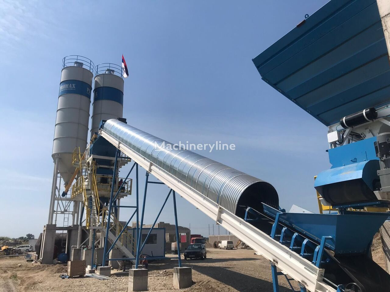 ny PROMAX STATIONARY Concrete Batching Plant S100 TWN (100m³/h) betongfabrikk