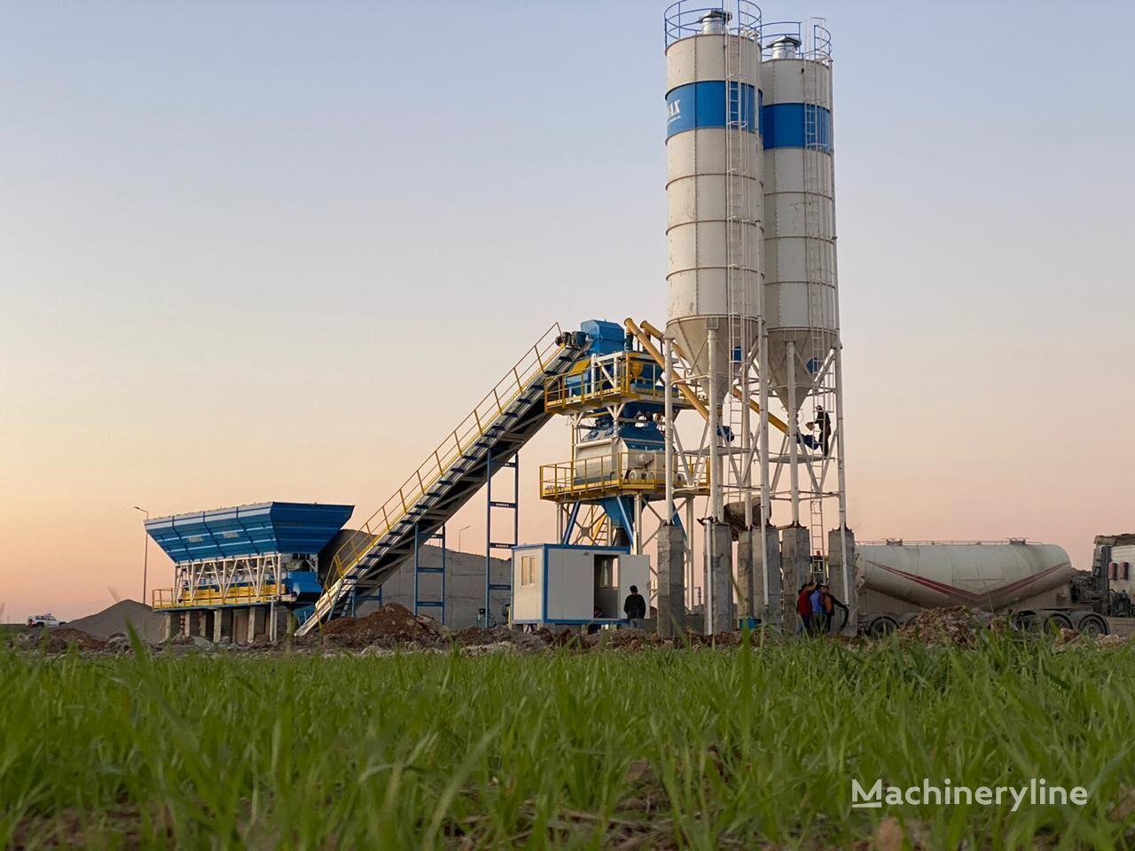 ny PROMAX STATIONARY Concrete Batching Plant S130-TWN (130m3/h) betongfabrikk