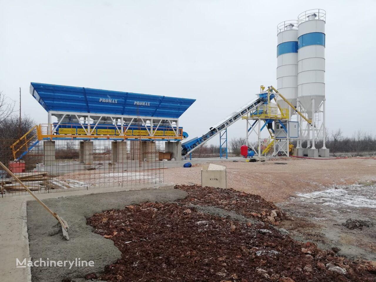 ny PROMAX KOMPAKTNYY BETONNYY ZAVOD C60 SNG-L (60 m³/ch)  betongfabrikk