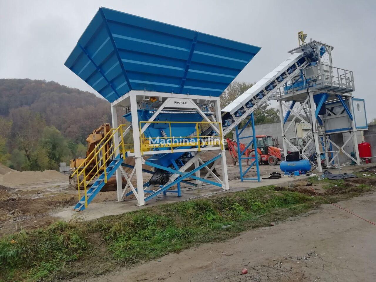 ny PROMAX MOBILNYY BETONNYY ZAVOD  M60-SNG (60 m³/ch)     betongfabrikk