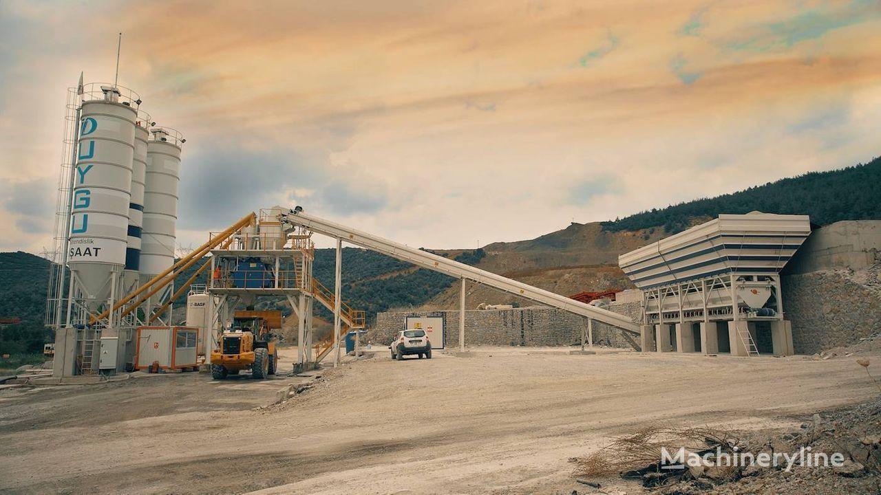 ny SEMIX Stationary 130 STATIONARY CONCRETE BATCHING PLANTS 130m³/h betongfabrikk