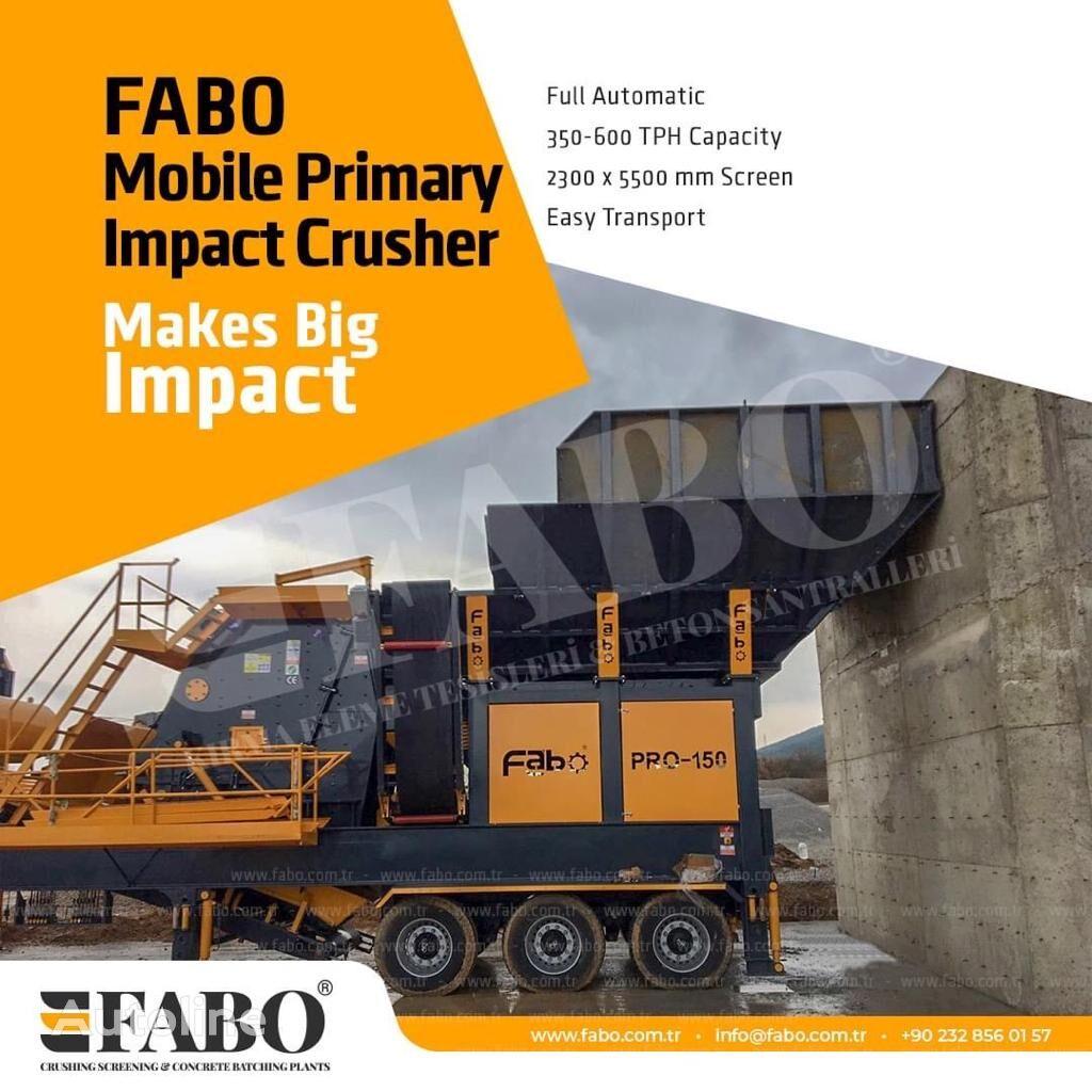 ny FABO MIC SERIES 400-500 TPH MOBILE CRUSHING & SCREENING PLANT knuseverket