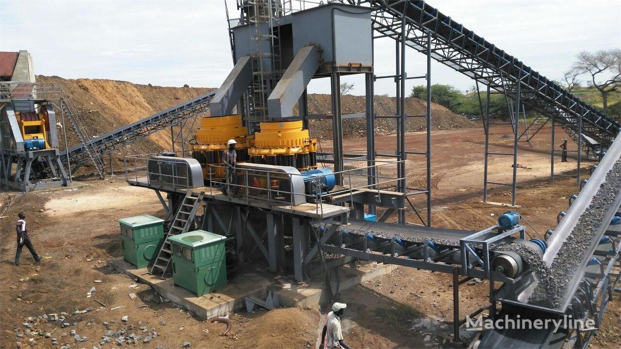 ny KINGLINK 250-300 TPH Basalt Crushing Plant knuseverket