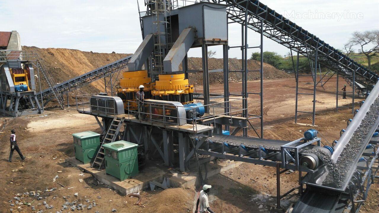 ny KINGLINK 250TPH Basalt Crushing Plant knuseverket