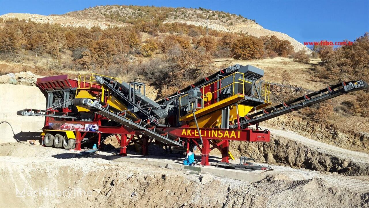 ny FABO MCK-60 MOBILE CRUSHING & SCREENING PLANT FOR HARDSTONE mobile knuseverket