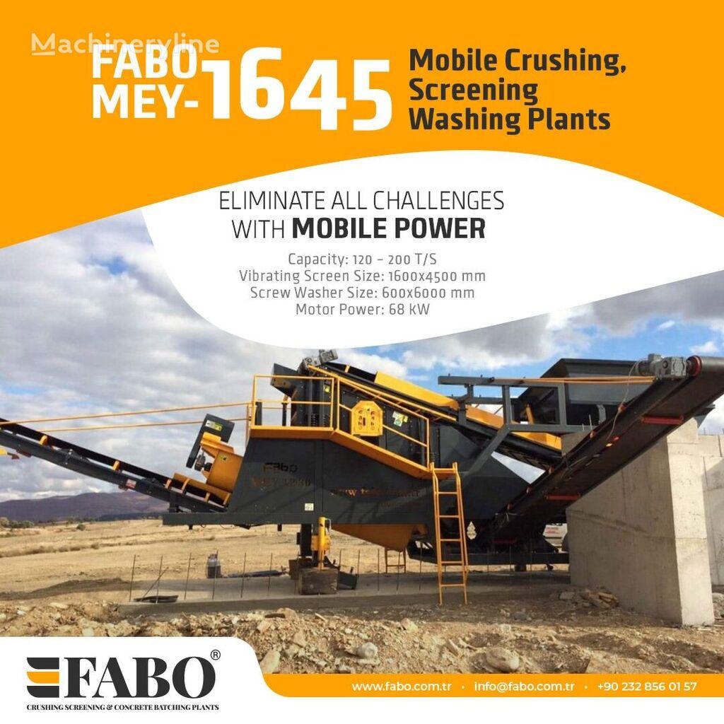 ny FABO MEY-1230 MOBILNOY SORTIROVOChNOY I PROMYVATELNOY USTANOVKI mobile knuseverket