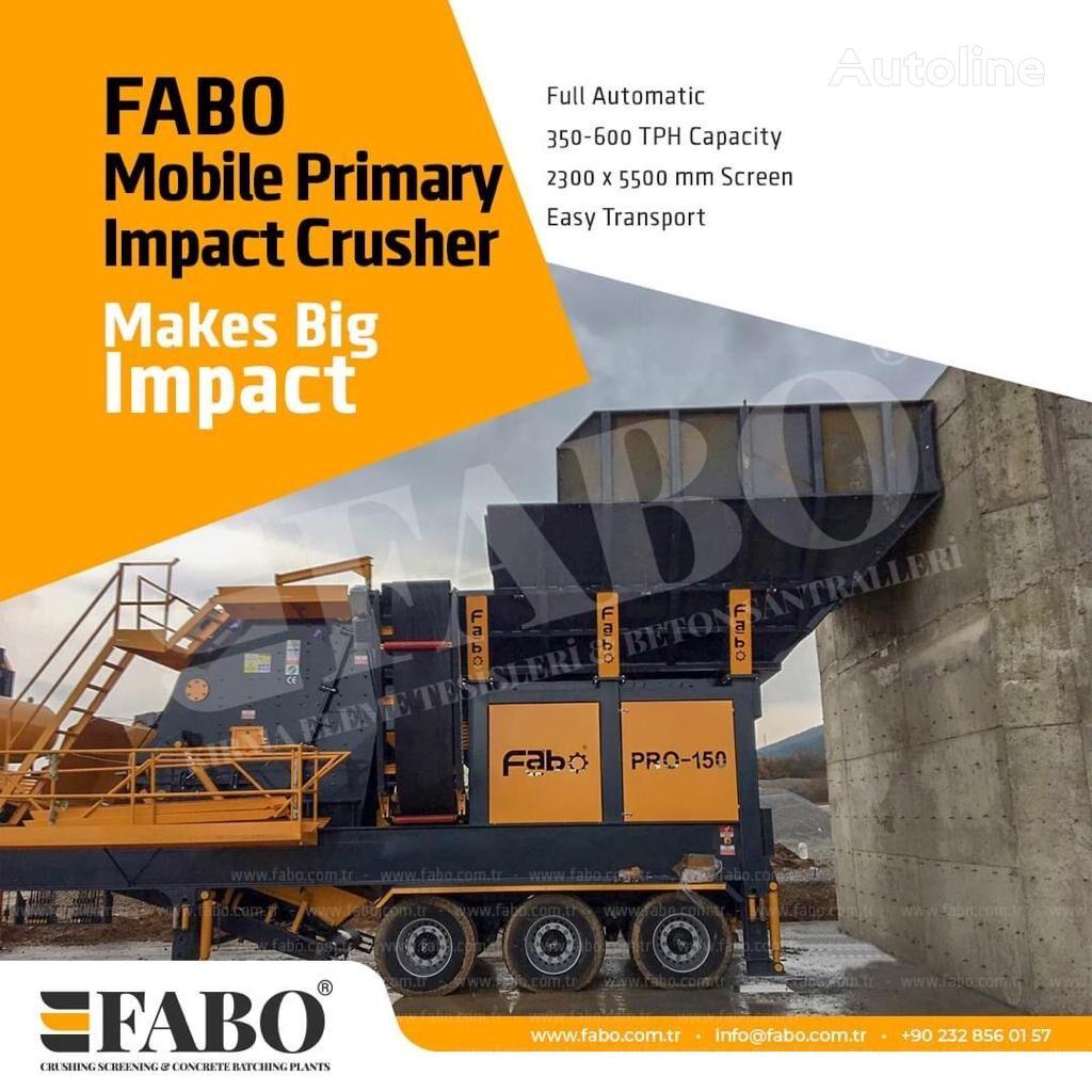 ny FABO MIC SERIES 400-500 TPH MOBILE CRUSHING & SCREENING PLANT mobile knuseverket