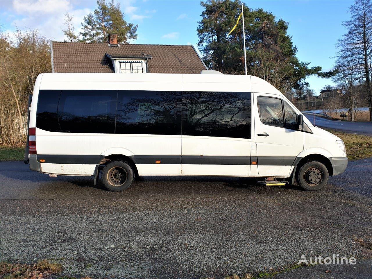 MERCEDES-BENZ Sprinter 516cdi/ 19pax/ new engine/ Euro 5/ lift/ klima passasjer minibuss