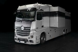 ny MERCEDES-BENZ RJH 2545 Exclusive Pferdetransporter POP-OUT LKW hestebil