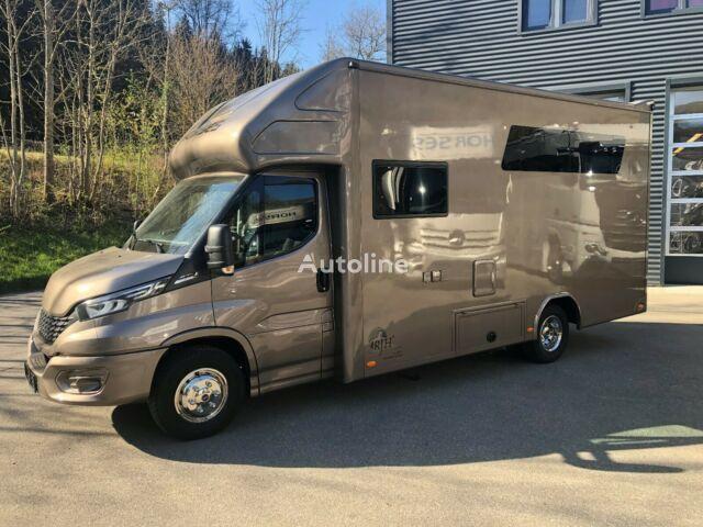 ny IVECO Pferdetransporter hestetransport