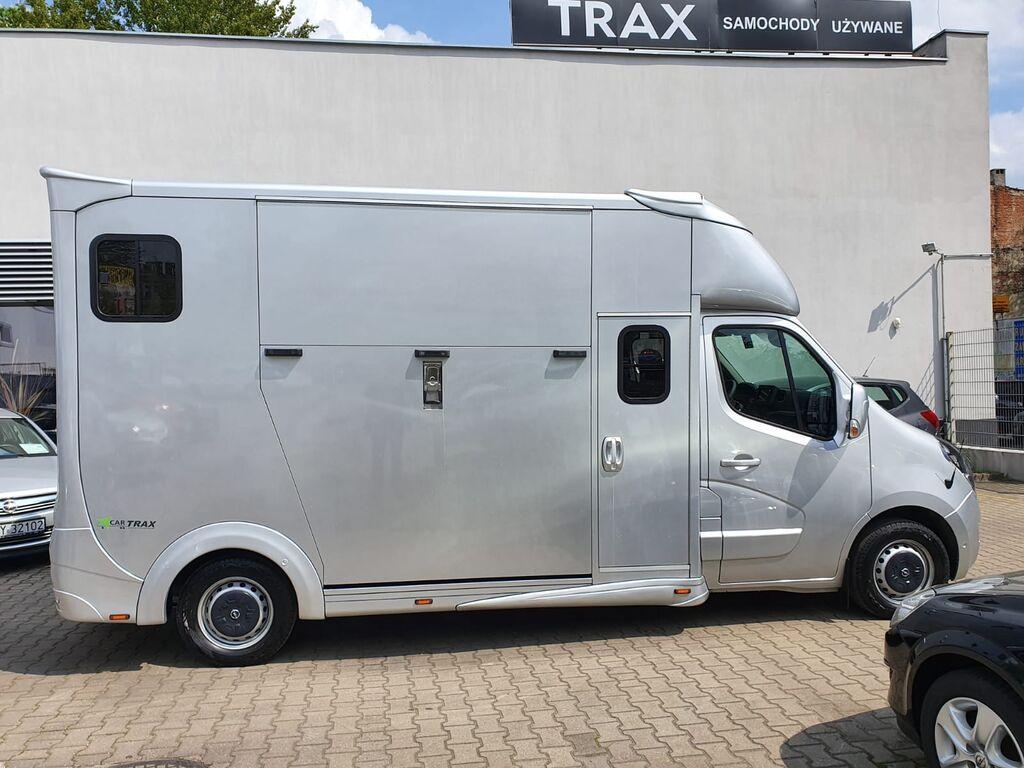 ny OPEL Movano Furgon FWD 2.3 BiTurbo hestetransport