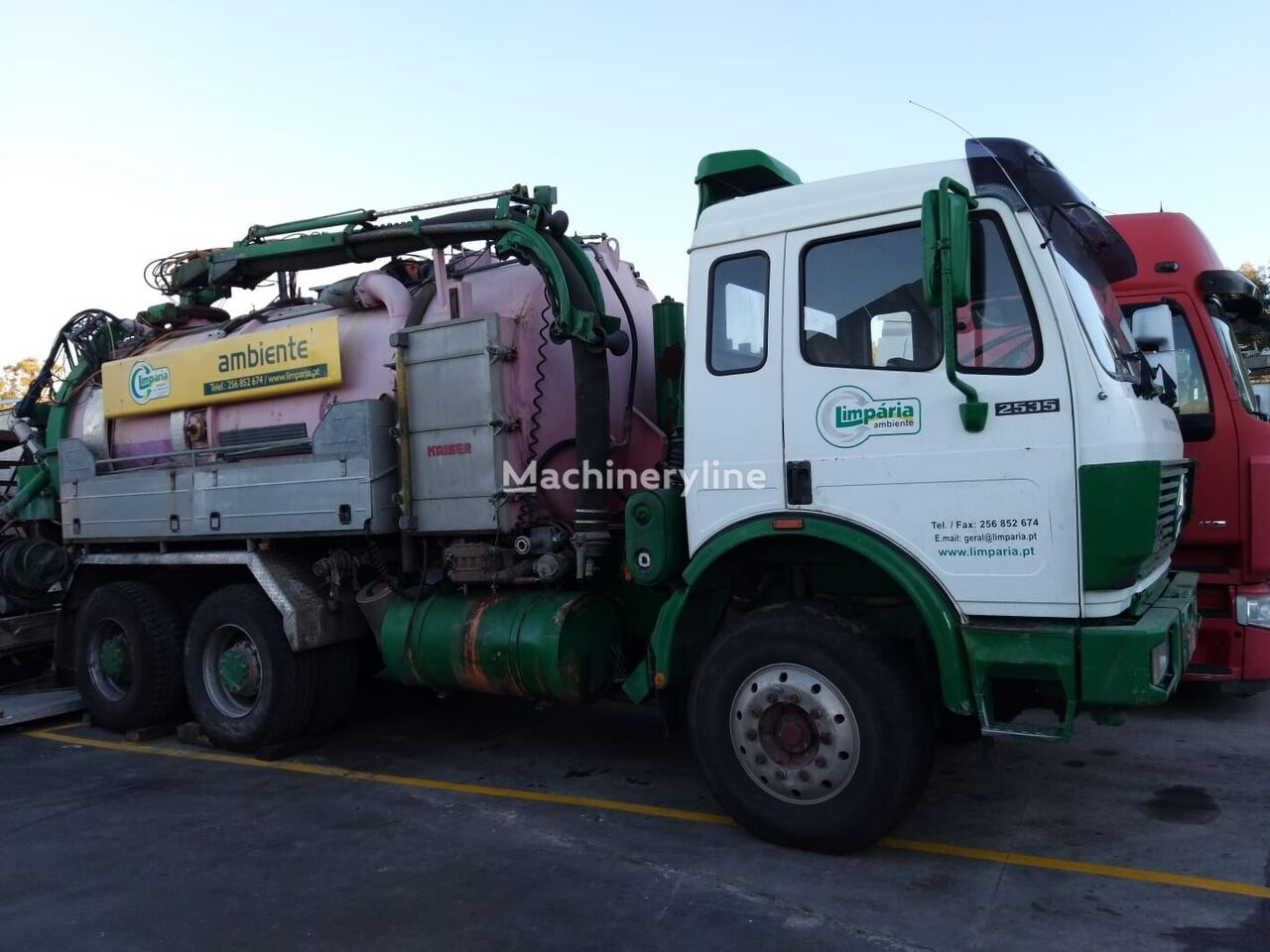 MERCEDES-BENZ 2535 kloakkbil