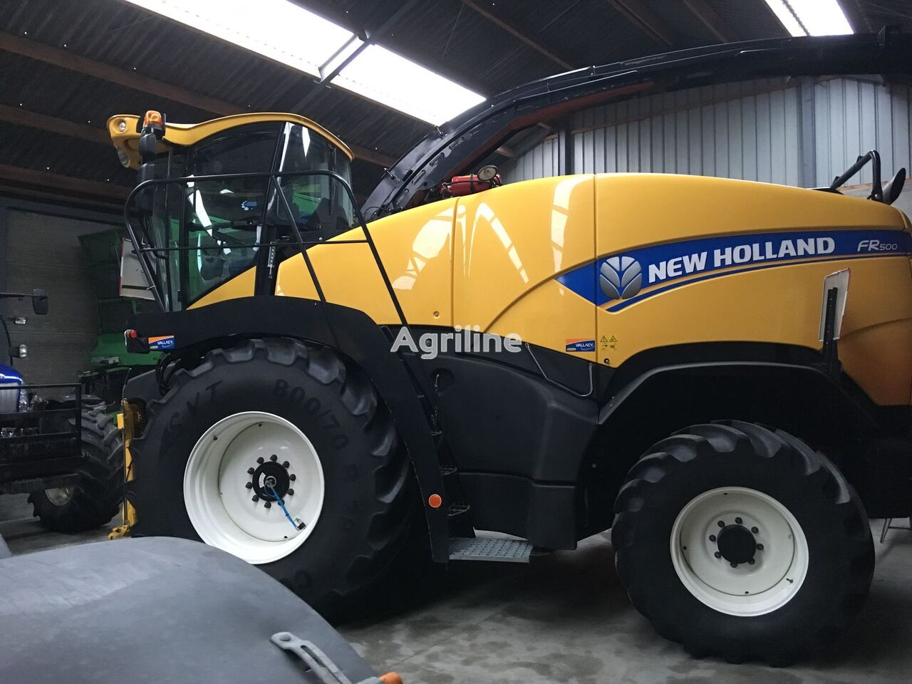 NEW HOLLAND FR500 ensilasje