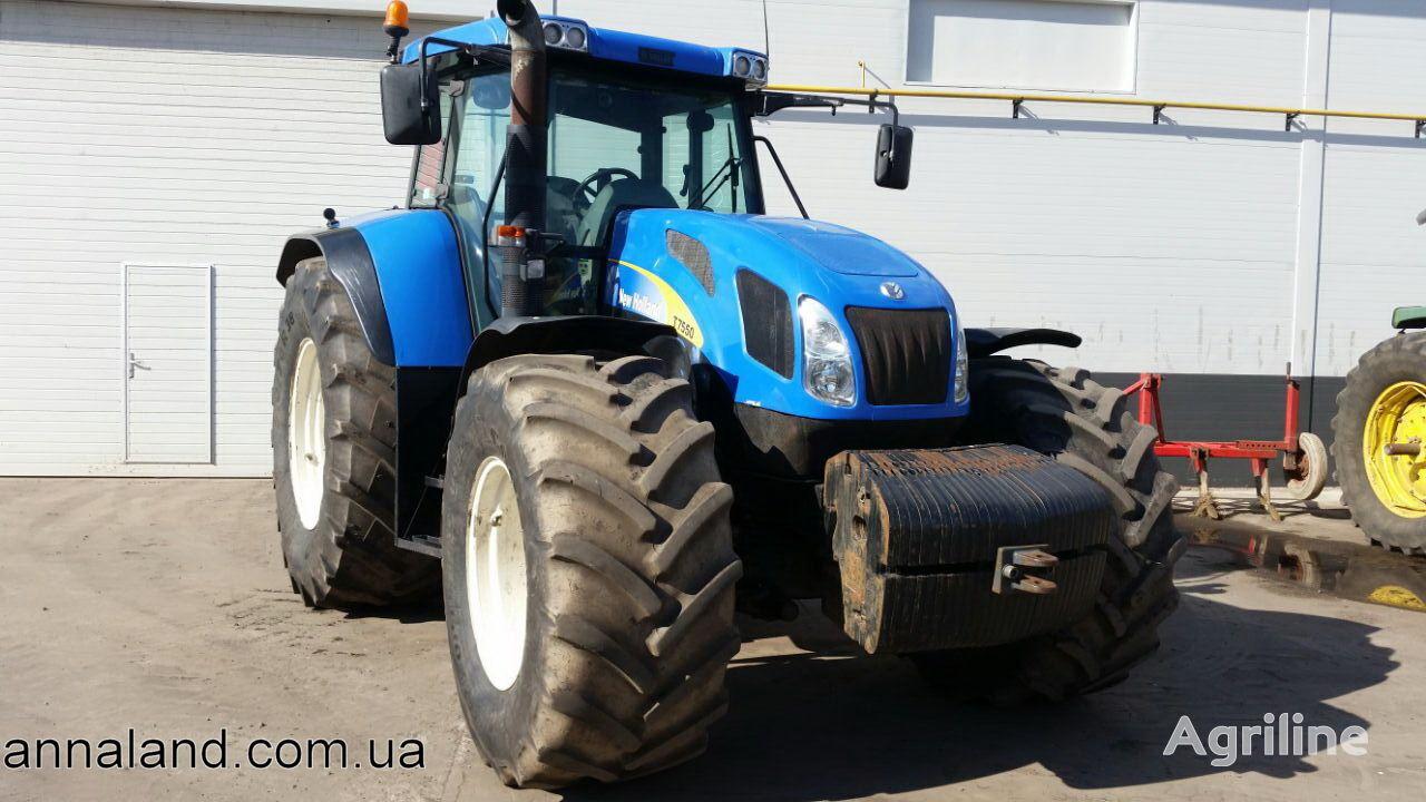 NEW HOLLAND T7550 hjul traktor