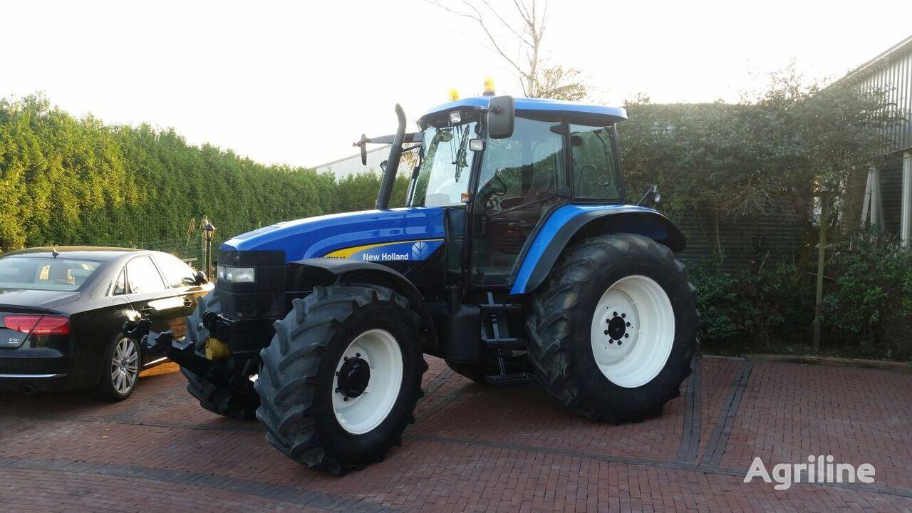 NEW HOLLAND TM140 hjul traktor