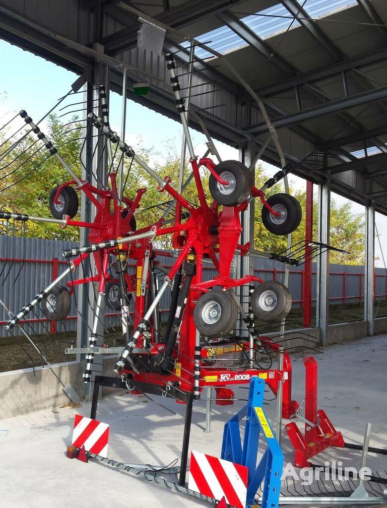 ny Greblă de adunat, model FCR, lățime de lucru 6,50 metri rake