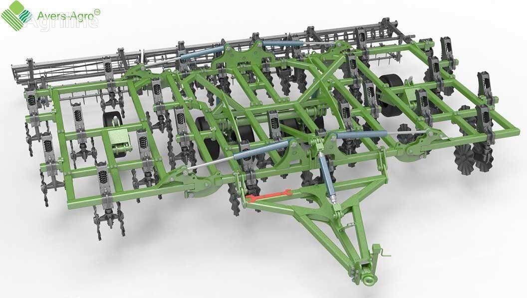 ny Avers-Agro Verti-till turbokultivator Green Wave 7,8 m. Gos.kompensaciya do stubbkultivator