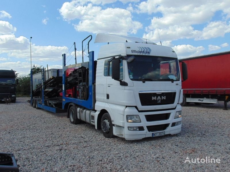 MAN TGX 18.400+ ROLFO C171 TRAILER biltransport