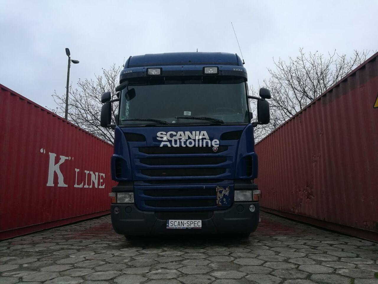 SCANIA G420 EEV Higline container lastebil