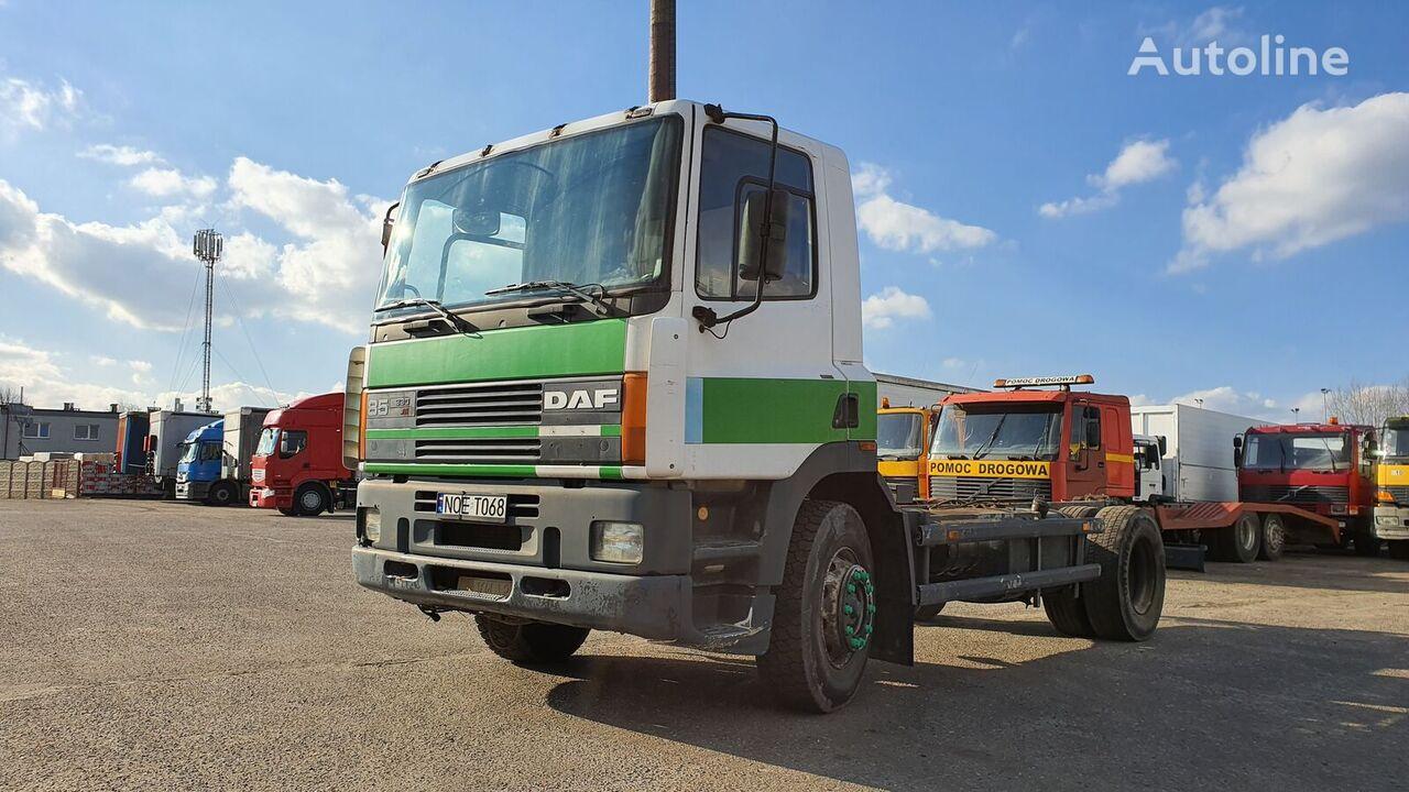 DAF 85  drivstoff transport tankbil