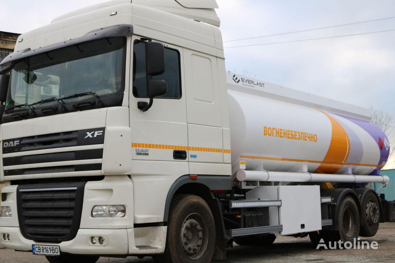DAF avtocisterna drivstoff transport tankbil + tilhenger