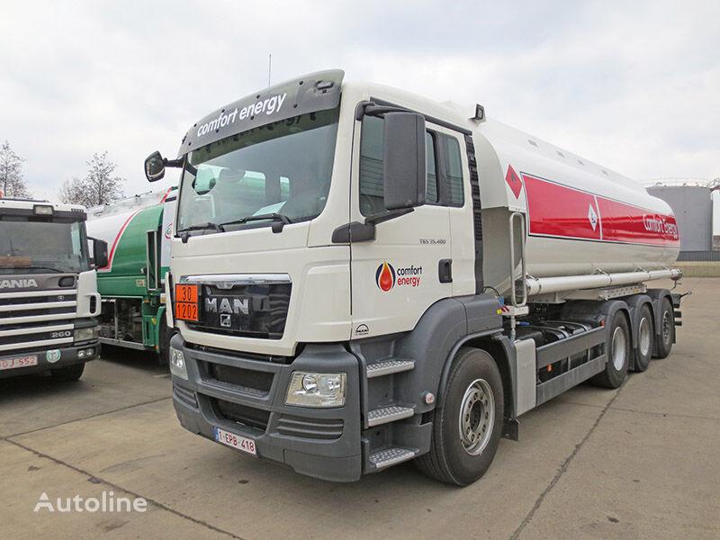 MAN drivstoff transport tankbil
