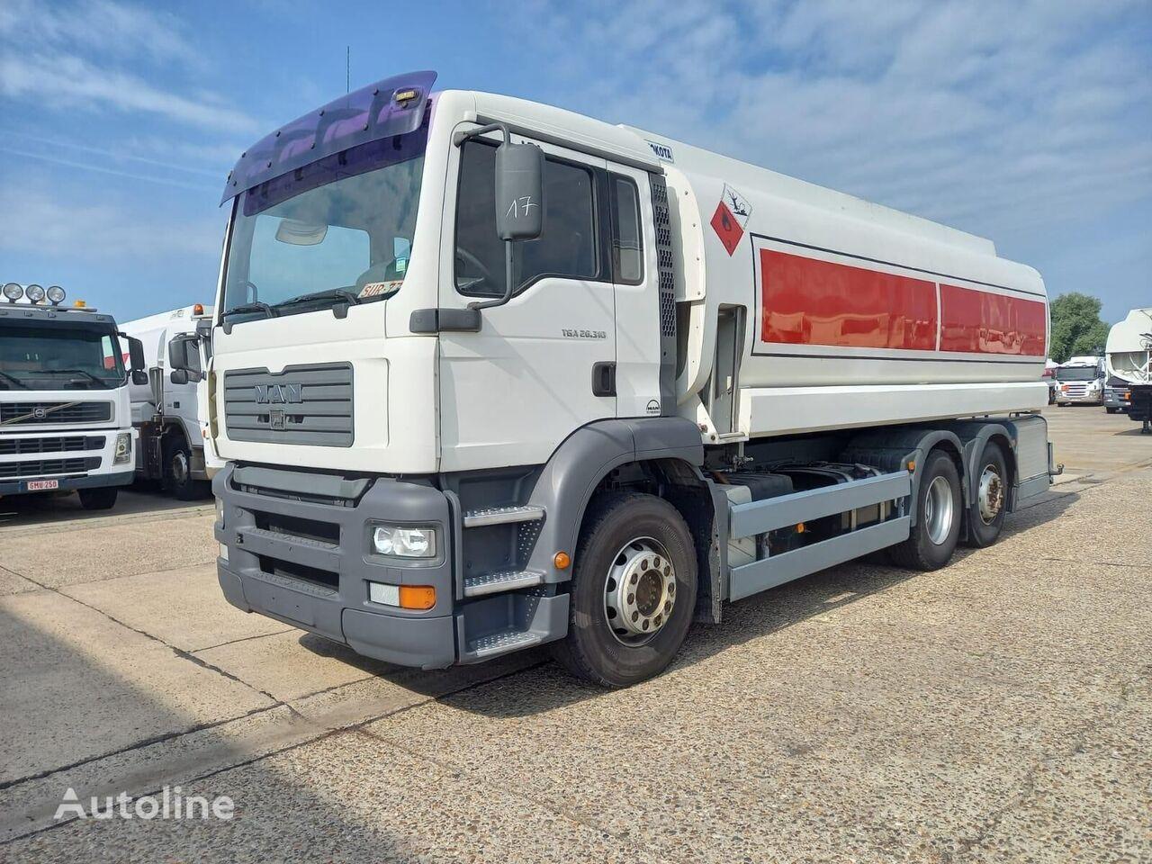 MAN Premium  drivstoff transport tankbil