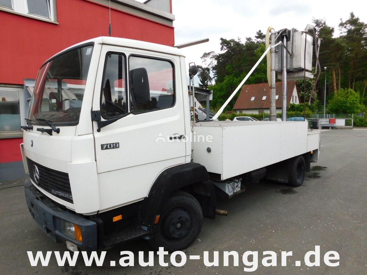 MERCEDES-BENZ 709  drivstoff transport tankbil