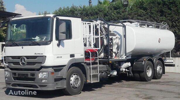 ny MERCEDES-BENZ NEW REFUELLER TANKER Actros 3 2536 L drivstoff transport tankbil
