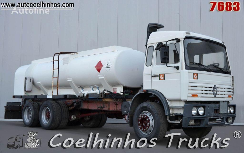 RENAULT G 300 drivstoff transport tankbil