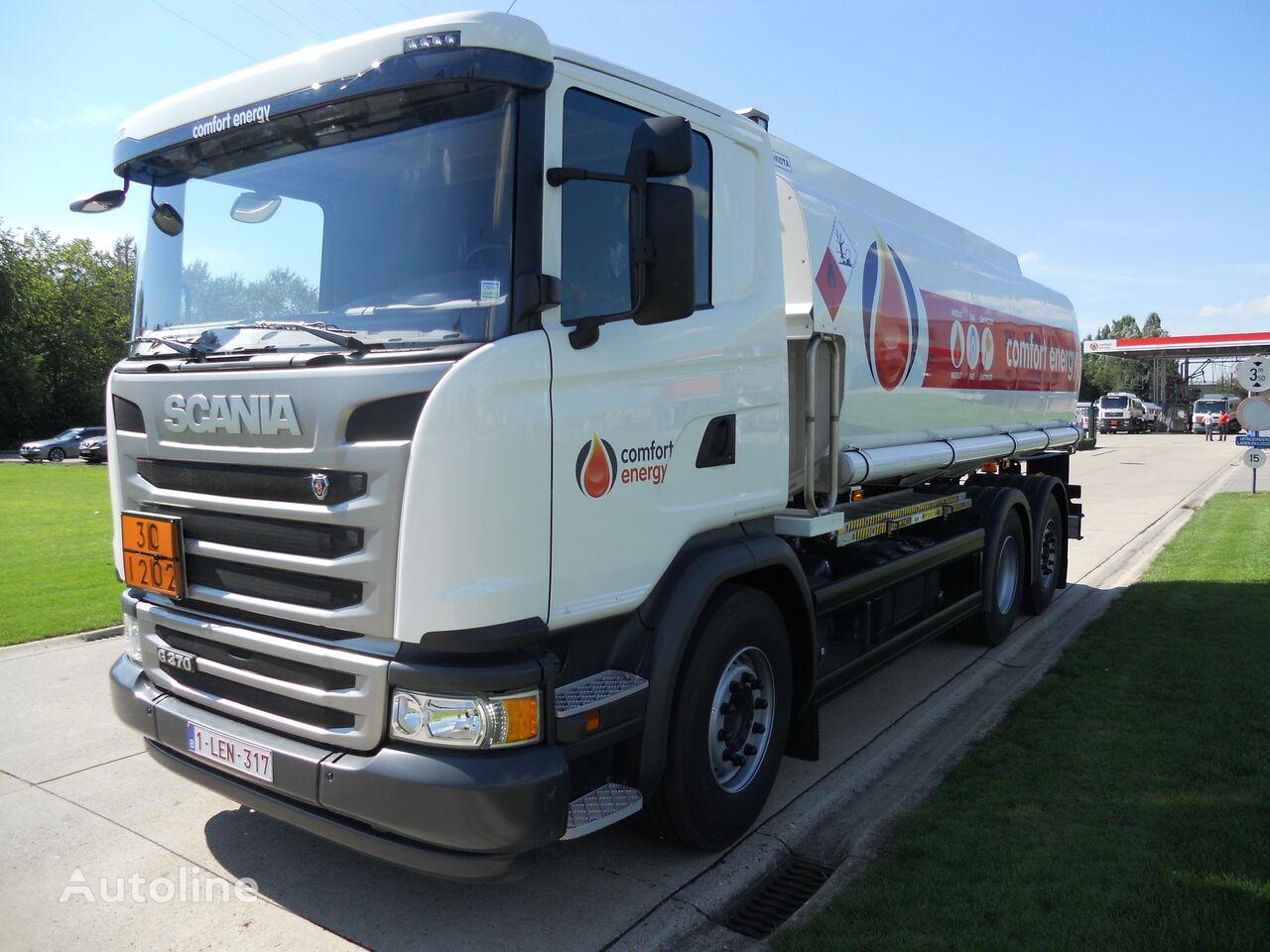 SCANIA drivstoff transport tankbil